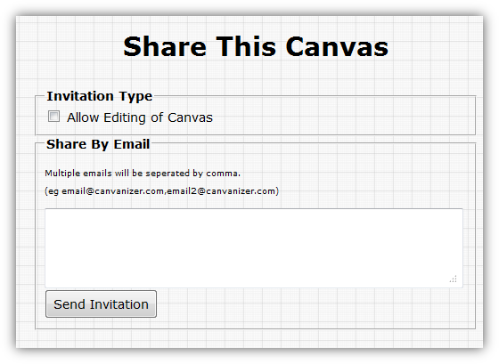 Share canvas